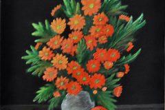 Henk Wijnveen - Vaas bloemen